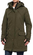 Rainforest Hooded Womenand039s Thermo Luxe Parka Jackets Olive Or Black