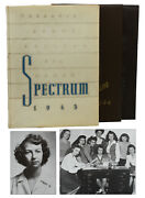 Flannery Oand039connor 3 College Yearbooks The Spectrum 1943 1945 Cartoons Gscw