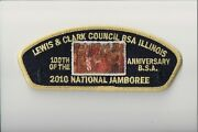 Lewis And Clark Council 2010 Jsp 100th Anniversary Black