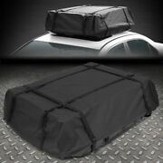 Dirt/water Resistant Roof Top Rail Cargo Bag Travel Storage Luggage W/abs Base