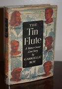 The Tin Flute - Bonheur D'occasion By Gabrielle Roy {signed 1st U.s. Printing}