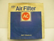 Nos Ac A49c Air Filter Jeep/amc/dodge/chrysler/plymouth 1957-1981 Vehicles
