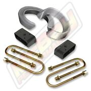 3 Front Coil Spacer And 2 Rear Block U-bolt Lift Kit 1998-2012 Ford Ranger 2wd