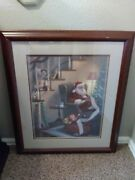George Kovach Asleep At The Watch Signed And Numbered Print 581/1993