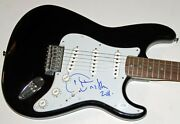 Aretha Franklin Queen Of Soul Autograph Signed Guitar Guaranteed Authentic Acoa