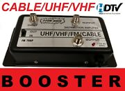Hd Distributor Amplifier Signal Booster Splitter Antenna Cable Tv Amp Over Air