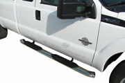 Steelcraft 5 Premium Oval Nerf Bars - Stainless Steel - 412459p