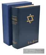 Israel A Personal History Signed David Ben-gurion Limited First Edition 1971