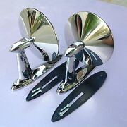 1960 Chevrolet Chevy Impala Bel Air Biscayne Station Wagon Door Mirrors Pair 2