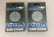 2 Pack 36 Archer Chainsaw Chain 3/8 Pitch Full Chisel Skip .050 Gauge 114 Dl
