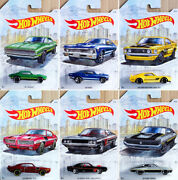 Detroit Muscle Car Set 6 Modellautos Ford Dodge Chevy Gto 164 Hot Wheels Gdg44