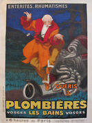 1931 Vintage French Travel Poster Plombieres Les Bains By Jean Dand039ylen Unlined