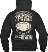 On Trend Football Dad - You Donand039t Need A Ticket To See Standard College Hoodie