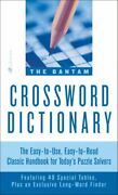 Bantam Crossword Dictionary, Paperback By Glanze, Walter D. Edt, Brand New,...