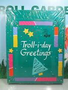 Russ Troll-i-day Christmas Cards Boxed Set - Four Designs - New - Rare