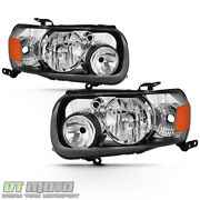 2005-2007 Ford Escape Factory Style Headlights Headlamps Replacement Left+right