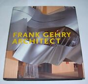 Frank Gehry Architect Signed 1st Ed. Los Angeles Architecture Guggenheim Museum