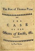 Rise Of Thomas Ppaine And The Case Of The Officers Of Excise By Paul Myles Eng