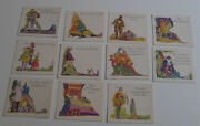 1925 F216-4 Jello Childrenand039s Tales Almost Set Of 11/12