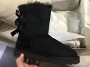 New, Women's Uggs Palisade, Black Boots, Size 7