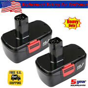 2 Pack 19.2 Volt Battery For Craftsman C3 11375 130279005 Cordless Drill