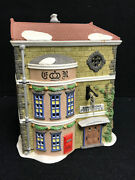 Dept 56 Dickens Village King's Road Post Office Porcelain Collectible