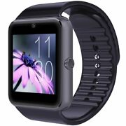Smartwatch Unlocked Watch Cell Phone Bluetooth Full Compatible Android Samsung