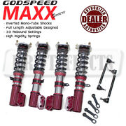 Godspeed Mmxi-7009 Maxx-sport Coilovers Camber Pla Kit For Toyota Mr2 91-96 Sw30