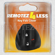 Key Fob Cover For 2010-2018 Toyota 4runner Remote Case Rubber Skin Jacket