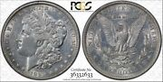 1895-o 1 Morgan Silver Dollar Pcgs Au Details Cleaned Secure Holder