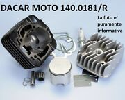 140.0181/r Set Cylinder D.47 Racing Polini Piaggio Fly 50 2t - Free