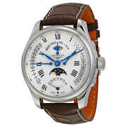 Longines Master Collection Automatic Moon Phase Gmt Menand039s Watch L27394713