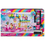 Party Popteenies - Poptastic Party Playset With Confetti, Exclusive Collectib...