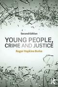 Young People, Crime And Justice By Roger Hopkins Burke English Paperback Book