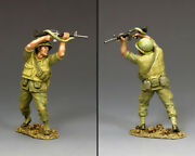 King And Country Vietnam War Vn013 U.s. Marine Covering Fire With M16 Rifle Mib