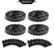 4pc 20mm Black Wheel Spacer For Audi A4 2wd, Typ B5, 4 Cyl 1999+ Pcd5x112/ 5x100