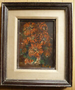Ann Knapton Collectible San Diego California Calif Ca Painting Floral Flowers