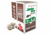 Junior Mints Chocolate Mint Hot Cocoa Pods For Keurig K-cup Makers 40 Ct K-cups