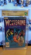 Wolverine Limited 2 Cbcs 9.6 6x Signed And Sketched Wein Rubinstein Simonson Cgc 1