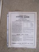 1941 Evinrude Ranger Outboard Motor Parts List More Boat Stuff In Our Store S
