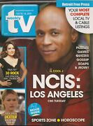Tv Weekly 2010 Oct.10-16 Ncis L.a Fair/good Cond