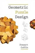 Geometric Puzzle Design Paperback By Coffin Stewart Like New Used Free Sh...