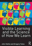 Visible Learning And The Science Of How We Learn, Paperback By Hattie, John ...
