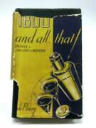 1800-and All That Drinks Ancient And Modern R. De Fleury - 1937 Id77782