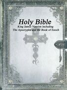 Holy Bible King James Version With The Apocrypha And The Book Of Enoch Paperbac