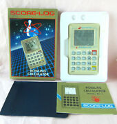 New 80s Bowling Handheld Electronic Game Watch Retro Vintage Calculator Jeu
