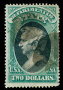 Momen Us Stamps O68 Official Used Signed