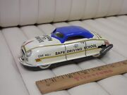 1950s Marx Safe Driving School Tin Lithographed Wind Up Car