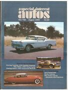 Sia Special Interest Autos August 1980--chevrolet Ford Franklin Lincoln, Mercury