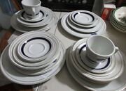 21 Piece Set Shenango China Department Of The Air Force Plate Cups Bowls Vgc